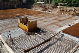 Construction of Vila Osmanthus